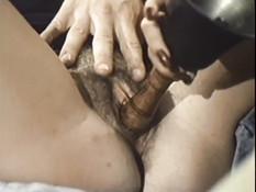 Мужик оттрахал и забрызгал спермой трёх грудастых светловолосых шлюх