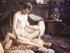 Две возбуждённые пары занялись страстным сексом в соседних комнатах
