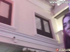 Турист снял рыжую тайскую девчонку и отодрал во все дырки в отеле