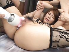 Японские девушки из города Токио любят секс игрушки и жёсткую еблю
