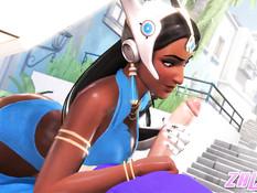 Overwatch Ebony Edition / Компиляция по игре Overwatch