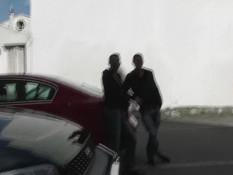 Двое парней сделали двойное проникновение худой французской шатенке