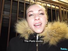 Пикапер снял французскую студентку и отымел в общественном туалете