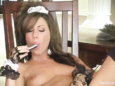 Tiffany Brooke as maid