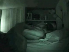 Student couple on nightvision