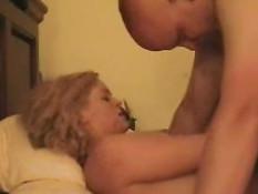 Hot amateur blonde sucks 3