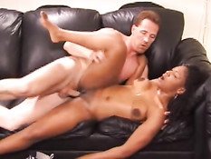 Fucking her on the couch 1