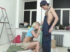 Teenage Anal Virgin Amateurs From Russia 9 / Анальные девственницы из России 9