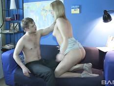 Teenage Anal Virgin Amateurs From Russia 5 / Анальные девственницы из России 5