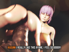 Kasumi the slave of HELL / Касуми рабыня в Аду
