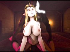 Princess Zelda assembly / Принцесса Зельда сборка