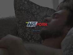 Две юные русские блондиночки разбудили парня и занялись с ним сексом