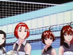 Court no Naka no Tenshi-tachi / Ангелы на волейбольной площадке
