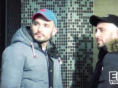 Двое голубых парней отодрали приятеля в задницу и забрызгали спермой