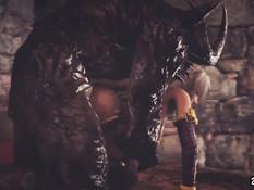 Kasumi the Slave of HELL 4.3 - Dangerous Bitch / Касуми Рабыня в Аду 4.3 - Опасная Сука
