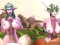 Ysera And Tyrande / Изера и Тиранда