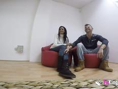 Три молодые испанские пары любители свинга занялись страстным сексом