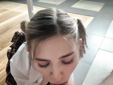 Грудастая русская студентка трахается в аудитории с соседом по парте