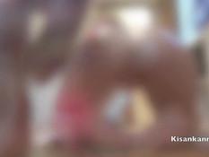 Вымазавшаяся в масле сиськастая русская блондинка оттрахана в киску
