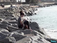Снял на пляже сисястую латинку с большой жопой и отодрал у бассейна
