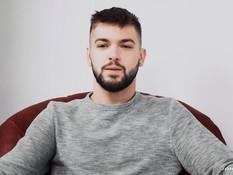 Бородатый голубой паренёк занимается гей сексом со своим приятелем