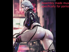 Ciri (The Witcher) assembly part 2 / Цири (Ведьмак) сборка часть 2