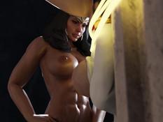 Wonder Woman and Power Girl / Чудо-женщина и Пауэр Гёрл