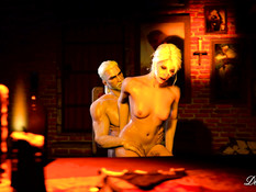 An Autumn Night - Geralt and Ciri / Осенняя ночь - Геральт и Цири