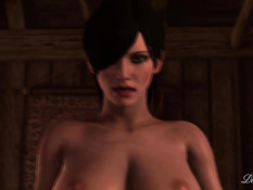 Corruption of the Lodge 3 - Ciri x Fringilla / Развращение в домике 3 - Цири и Фрингилья