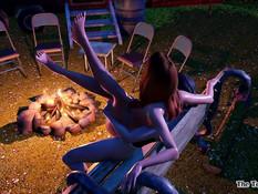 Campfire Memories - Rebel and Vicky / Воспоминания у костра - Ребел и Вики