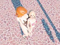 Normal Day at the Pool / Обычный день в бассейне