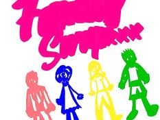 Рыжая девка и сисястая светловолосая тётка ебутся с парнем и мужиком