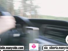 Две русские нимфоманки занимаются лесби сексом и ебутся с водителем