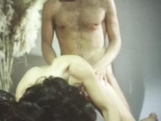 Мужчина отлизал у брюнетки волосатую пизду и засадил в неё свой член